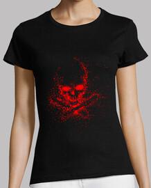 Skull ghost red (M)