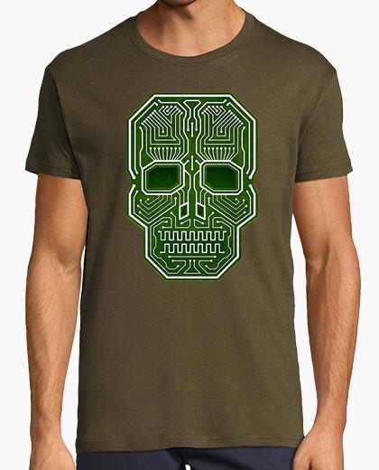 Camiseta Skull Hacker