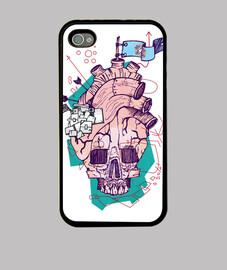 skull heart p