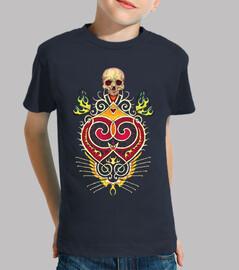 skull heart skull calaca