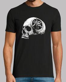 skull helmet-motor-logo-eroded-motorcycle