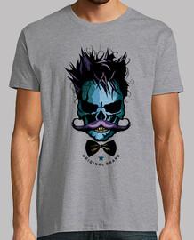 skull hipster skull bearded skull
