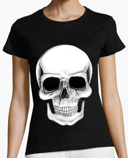 Tee-shirt skull illustration !!!