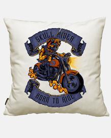 skull motociclista
