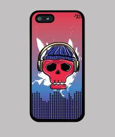 Skull Music Case iPhone 5s