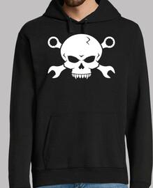 Skull n Bones Tornillo Pirata 2 (blanco