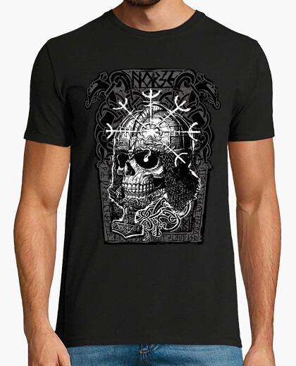 Tee-shirt skull nordique