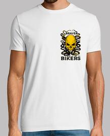 skull octopus shirt mushroom white