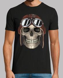 skull pilot / calaca / catrina aviator