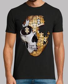 skull puzzle / calaca / skull / catrina