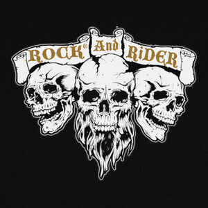Camisetas Skull Rock And Rider®