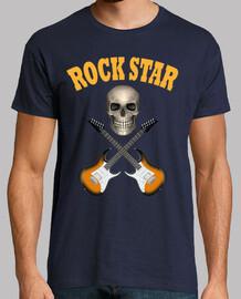 skull rock star guitars