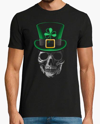T-shirt skull san patrizio