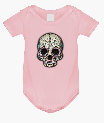 Vêtements enfant skull sucre rose