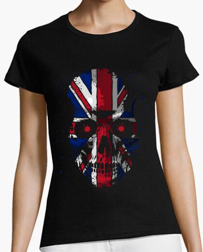 Camiseta Skull UK