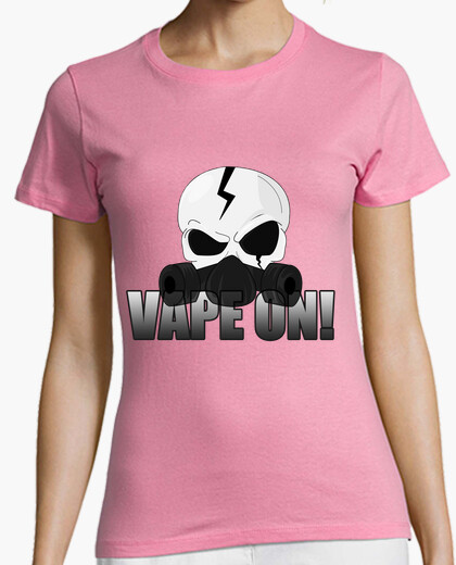 Tee-shirt Skull Vape On !