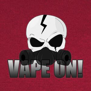 Tee-shirts Skull Vape On !