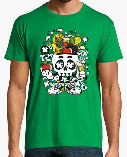 Tee-shirt skull végétalien