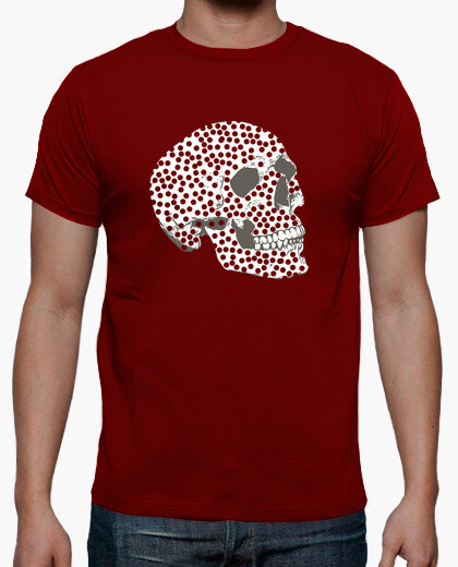 Skull with points t-shirt