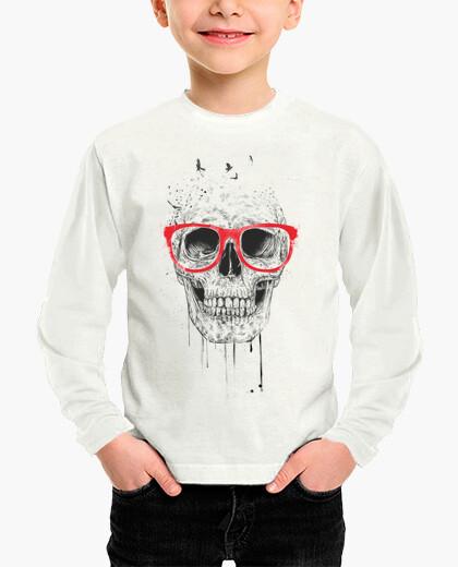 Ropa infantil Skull with red glasses