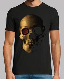 skull with rose / catrina / calaca / ka