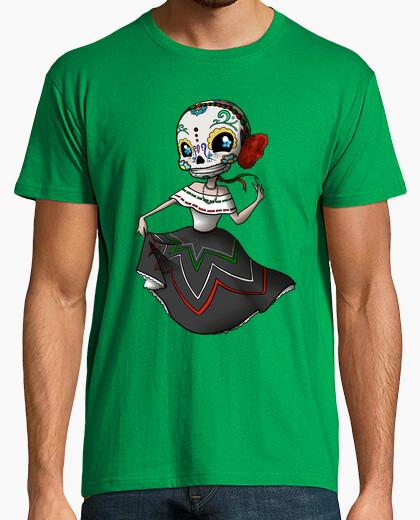 T-shirt skullgirl