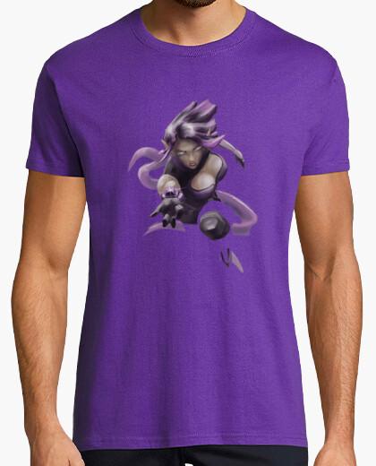 Camiseta Skye Muerte Púrpura - manga corta, morado