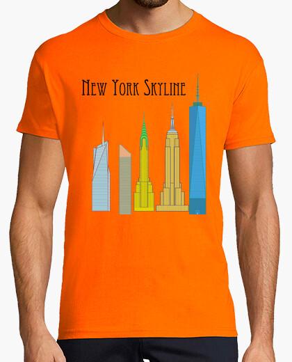 Camiseta Skyline de Nueva York