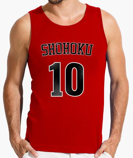 Camiseta SLAM DUNK  - SHOHOKU 10 (SAKURAGI)