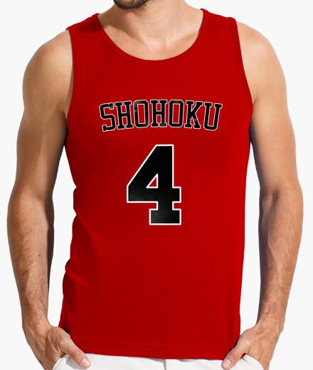 Camiseta SLAM DUNK  - SHOHOKU 4 (AKAGI)