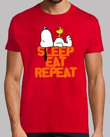 Sleep, eat & repeat