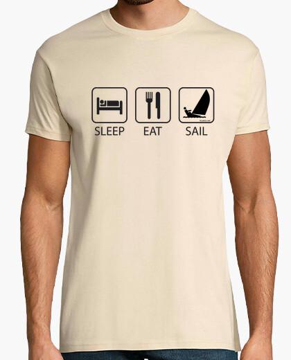 Camiseta Sleep Eat and Sail Hombre