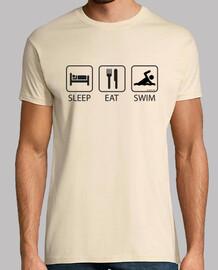 Sleep Eat and Swim Hombre