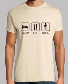 Sleep Eat and Train Hombre