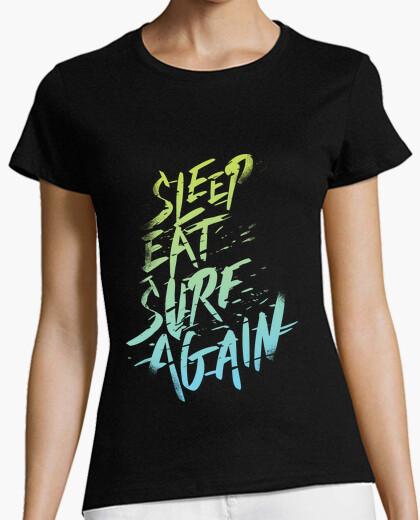 Camiseta Sleep, Eat, Surf, Again vol. 2