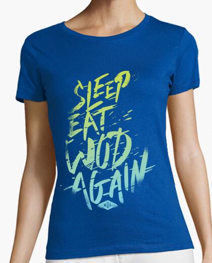 Camiseta Sleep, Eat, Wod, Again
