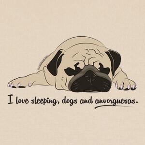 T-shirt Sleeping dogs