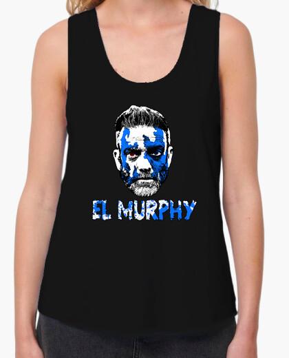 Sleeveless t-shirt woman the murphy