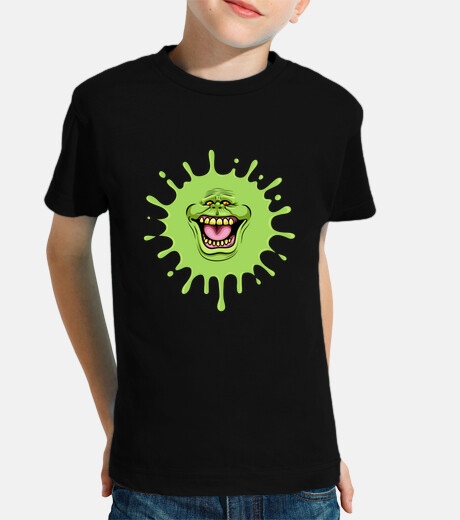 slimed ghostbusters kids t-shirt