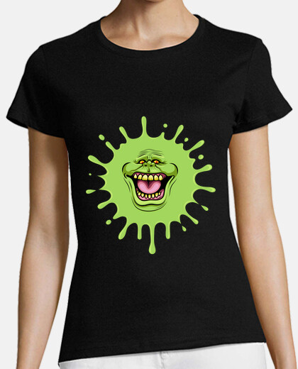 slimed ghostbusters womens t-shirt