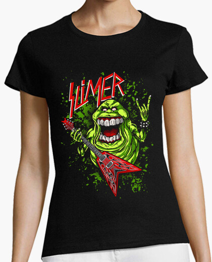 Men or Women Slimer Ghostbusters Tee - S to 5XL