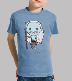 sloth- t-shirt bambino
