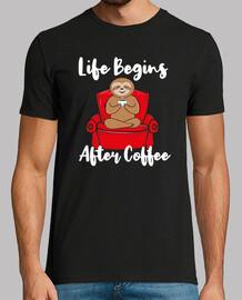 Sloth Coffee Lovers Gift