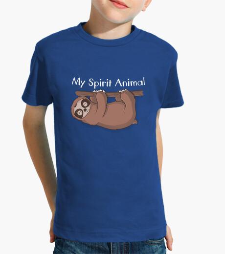 Vêtements enfant sloth est mes animaux d'esprit