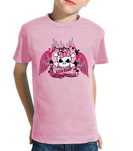 Open Kids clothes skulls