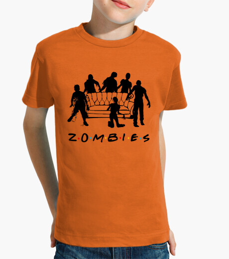 Small t shirt zombies children's clothes