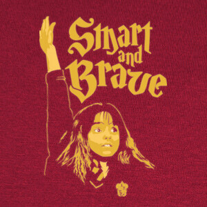 Camisetas Smart and Brave (Hermione)