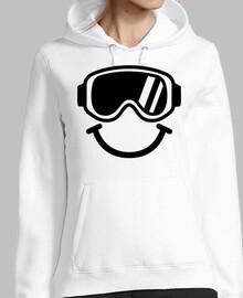 smiley de esquí