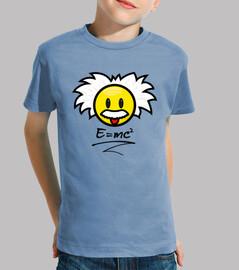 Smiley Einstein - E=mc²