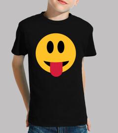 smiley langue